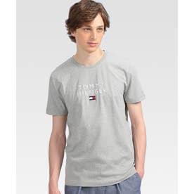 エンブロイダリーロゴTシャツ (グレー)