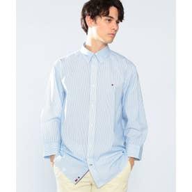 クラシックストライプシャツ (ブルー)