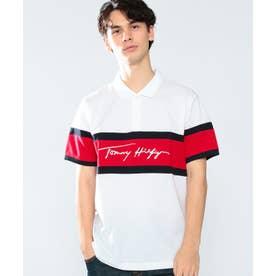 スリムフィットロゴポロシャツ (ホワイト)