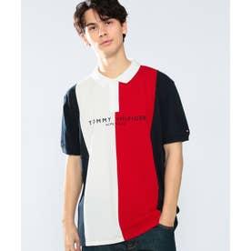 カラーブロックポロシャツ (マルチ)