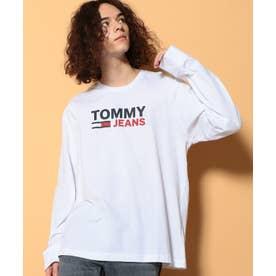 ロゴロングスリーブTシャツ (ホワイト)