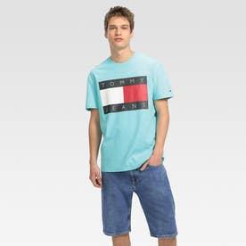 フラッグロゴTシャツ (ライトブルー)