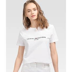 ベーシックロゴコットンTシャツ (ホワイト)