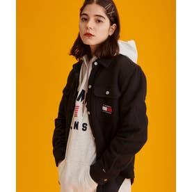 シェルパシャツジャケット (ブラック)