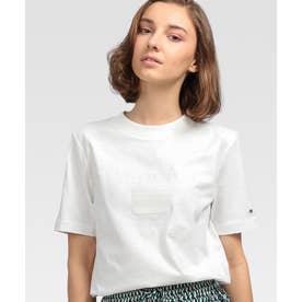 エンブロイダリーロゴTシャツ (ホワイト)