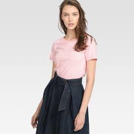 プリントTシャツ (ピンク)