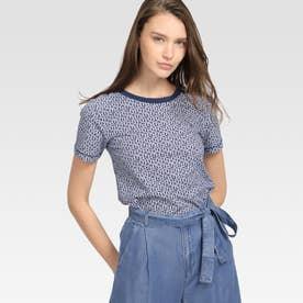 プリントTシャツ (ネイビー)