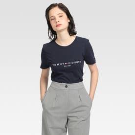ベーシックロゴTシャツ (ネイビー)