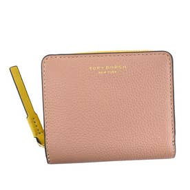 PERRY COLOR-BLOCK BI-FOLD WALLET (PINK MOON / MOOSE)