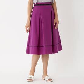 タフタストレッチ スカート (ラベンダー)