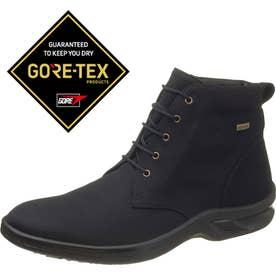 ゴアテックスファブリクス採用 メンズブーツ TDY3836 レースアップブーツ (ブラックPB) 男性用 メンズシューズ 紳士靴