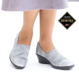 女性用パンプス ゴアテックスファブリクス採用 TDY3938 (シルバーリザード) レディース 婦人靴
