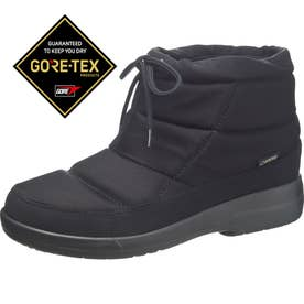 TDY3974 ショートブーツ (ブラック) 女性用 レディース 婦人靴 ゴアテックスファブリクス採用