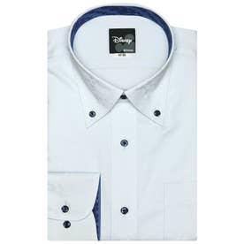 TOKYO SHIRTS袖の 長いサイズ・大きいサイズ【ディズニー】 形態安定 ボタンダウン 長袖  ビジネスワイシャツ (ライトブルー)
