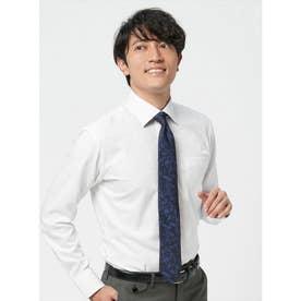 【ディズニー】 形態安定 ワイド 長袖  ビジネスワイシャツ (ホワイト)