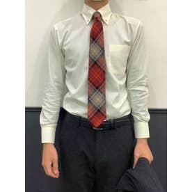 形態安定 ボットーニ 長袖ビジネスワイシャツ (レモンイエロー)