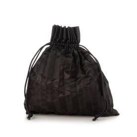 PLEATS DRAW BAG (BLACK)