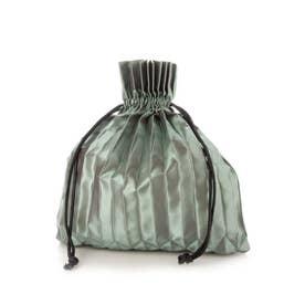 PLEATS DRAW BAG (GREEN)
