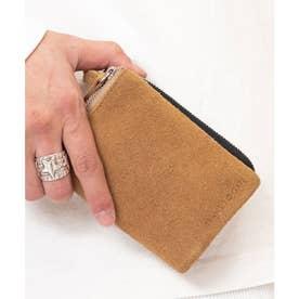 G5 スエード 二つ折り財布 (BE)
