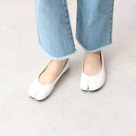 足袋パンプス (ホワイト)