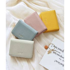 牛革三つ折りミニ財布 (IVO)