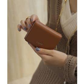 牛革三つ折りミニ財布 (CAM)