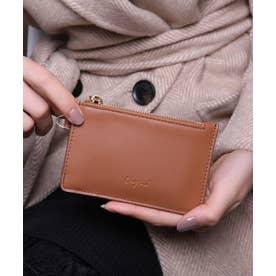スムース カード財布キーリング付き (CAM)