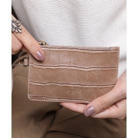 マッドクロコ カード財布キーリング付き (BEG)