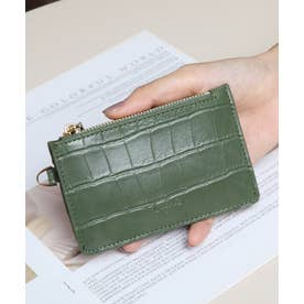 マッドクロコ カード財布キーリング付き (KHA)