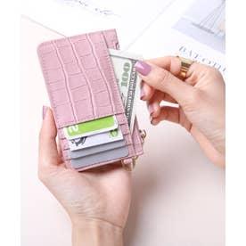 マッドクロコ カード財布キーリング付き (SMPNK)