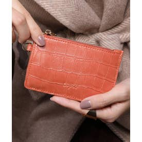 マッドクロコ カード財布キーリング付き (ORG)