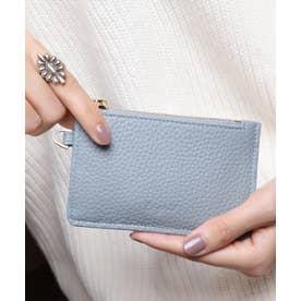 牛革 カード財布キーリング付き (BGRY)