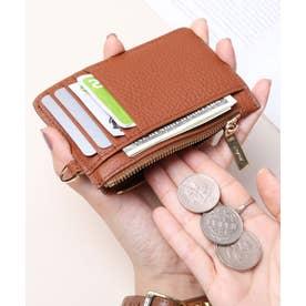 牛革 カード財布キーリング付き (CAM)