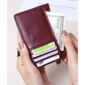 牛革 カード財布キーリング付き (WIN)