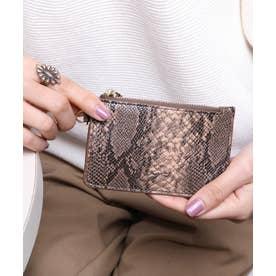 マッドクロコ カード財布キーリング付き (PYTBEG)
