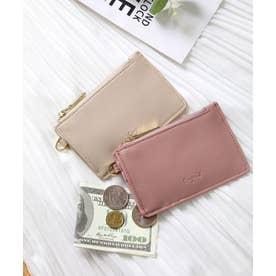 スムース カード財布キーリング付き (SMPNK)