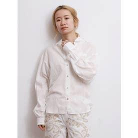 オーガニックテンセルローンシャツ(オフホワイト)
