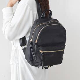 cinq poches【サンク ポッシュ】ナイロンリュック (ブラック)