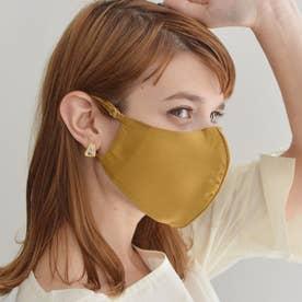 【CELEBMASK No.1】超立体セレブマスク/シルク100% (ターメリック) 【返品不可商品】