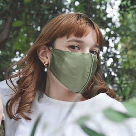 【CELEBMASK No.1】超立体セレブマスク/シルク100% (オリーブ) 【返品不可商品】