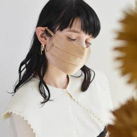 耳ひも調整可 洗える【CELEBMASK No.3】シルクを纏って日常をもっと美しく セレブマスク/ケース付き【返品不可商品】 (ゴールド1)