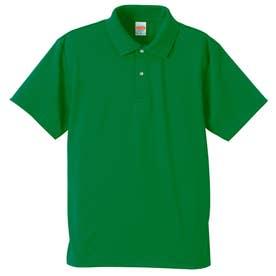4.1オンス ドライアスレチック ポロシャツ (029.グリーン)
