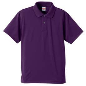 4.1オンス ドライアスレチック ポロシャツ (062.パープル)