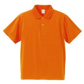 4.1オンス ドライアスレチック ポロシャツ (064.オレンジ)