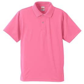 4.1オンス ドライアスレチック ポロシャツ (066.ピンク)