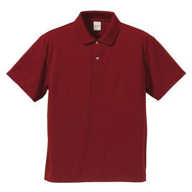 4.1オンス ドライアスレチック ポロシャツ (072.バーガンディ)