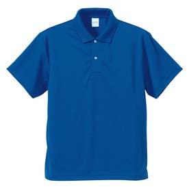 4.1オンス ドライアスレチック ポロシャツ (084.コバルトブルー)