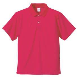 4.1オンス ドライアスレチック ポロシャツ (511.トロピカルピンク)
