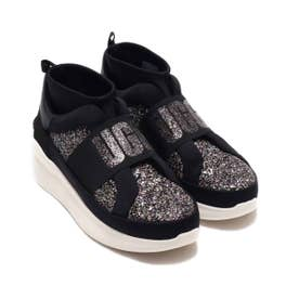 Neutra Chunky Glitter Sneaker (BLACK)