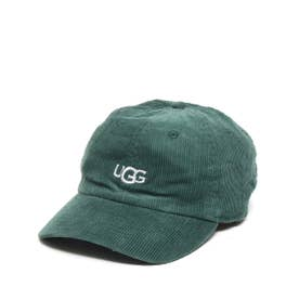 LOGO CORDUROY 6 PANEL CAP (GREEN)